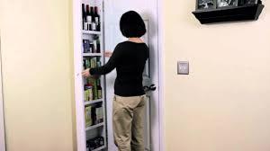 Door Storage Cabinet Innovation Award Winning Back Of Door Storage Cabinet Youtube