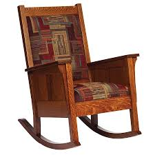 Mission Oak Rocking Chair White Mission Style Rocking Chair U2014 Outdoor Chair Furniture
