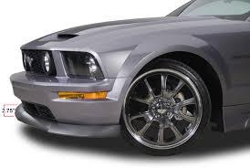 Black 2009 Mustang Gt 2005 2009 Mustang Gt Cervini U0027s Type Ii Chin Spoiler 4340
