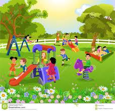 children in the park clipart clipartxtras
