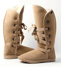 s ugg lace up boots lace up ugg boots 42cm 16 4 high premium