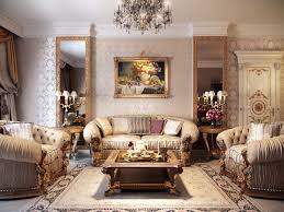 Luxurious Interior by Luxurious Formal Living Room Interior Design Ideas