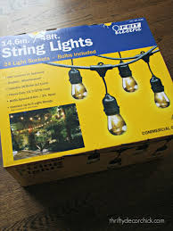 Backyard Patio Lighting Ideas by Best String Lights For Outside Outdoors Pinterest Outdoor