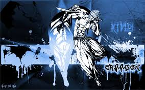 Paint Splatter Wallpaper by Bleach Espada Anime Grimmjow Jaegerjaquez Pantera Paint Splatter