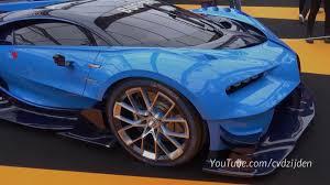 bugatti concept bugatti vision gt at the 2016 concept car show in paris front