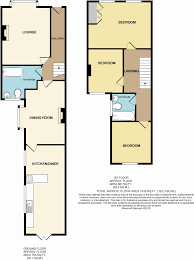 Terraced House Floor Plan by 3 Bedroom Terraced House For Sale In St Augustine Avenue Grimsby