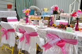 tea party tables butterfly tea party birthday make and takes