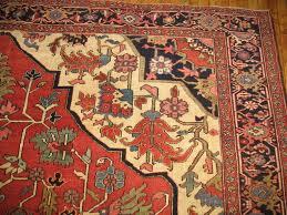 antique persian heriz serapi rug for sale at 1stdibs