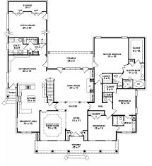 5 bedroom house plans 1 story bedroom house plans story photos and six split modern large
