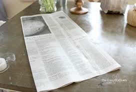 How To Make A Decorative - how to make a decorative newspaper bag the crazy craft lady