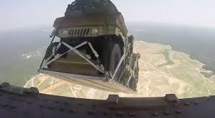 humvee drawing c 17 globemaster drops 8 humvees from 5 000 feet world war wings