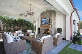 Covered Patio Pictures And Ideas Creative Outdoor Fireplace Designs And Ideas