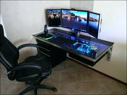 cool computer desk computer table ideas best gaming computer table ideas on regarding