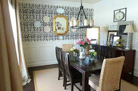 How To Decorate Dining Room Decorating Ideas For Dining Room Walls Interior Design Ideas