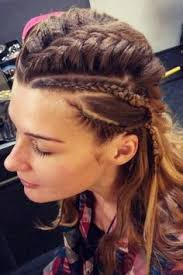 how to do hair like lagatha lothbrok shieldmaiden instagram lunaintheforest hair pinterest