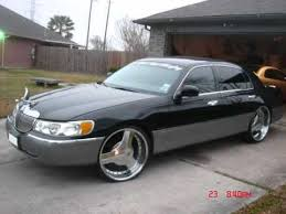 lincoln town car on 24