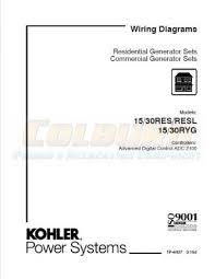 residential u0026 commercial wiring diagram manuals kohler manuals