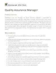 quality assurance resume exles quality assurance auditor resume sle quality manager resume