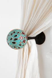 curtain tie back loops extraordinary mercury glass for mullett