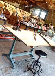 1950 u2032s german drafting table jennifer price studio vintage