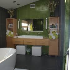 fabulous single white bowl sink on dark wooden floating vanity
