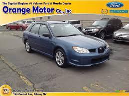 black subaru 2007 2007 subaru impreza 2 5i wagon in newport blue pearl 807348