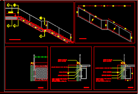 stairs of emergency dwg block for autocad u2022 designs cad