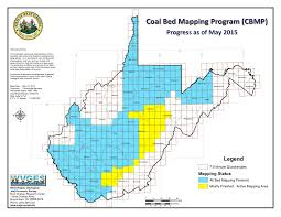 Map Of West Va Interactive Coal Bed Mapping Project Cbmp