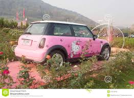 pink mini cooper mini cooper pink stock illustration image of transport 11600982