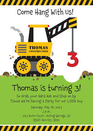 construction birthday party invitations theruntime com