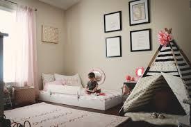 montessori floor toddler bed habitación infantil pinterest