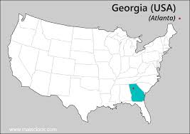 Map Georgia Usa by Florida Time Time Now In Florida Usa