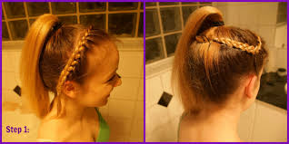 howtododoughnut plait in hair hair do how to competitor number one