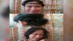 headband waves easy heatless waves soft curls for hair using headband