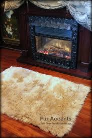 Sheepskin Runner Rug Coffee Tables Real Animal Rugs Antelope Runner Stark Carpet