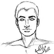 man head sketch by 1magi11 on deviantart
