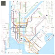 Lirr Map New York City Subway Map Mapping And Wayfinding
