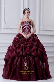 quinceanera dresses 2016 burgundy quinceanera dresses with straps and embroidery
