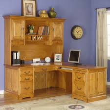 oak corner desks for home light brown varnished oak wood working desk decor with classy carved