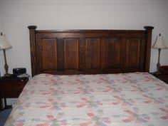 Headboard From Old Door by Both Headboard And Footboard Made From Old Doors Finally Got It
