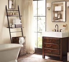 Ladder Shelf For Bathroom Over The Toilet Storage Mybedmybath Com