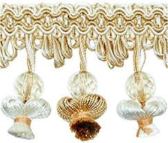 Beaded Fringe For Curtains Cheap French Tassel Trim Find French Tassel Trim Deals On Line At