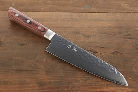 Best Kitchen Knives In The World Seisuke Vg10 33 Layer Damascus Hammered Santoku Japanese Chef
