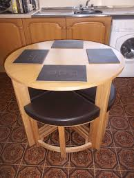 Space Saving Table And Chairs by Space Saving Dining Table And 4 Chairs