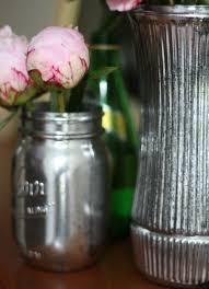 Mercury Glass Vases Diy 132 Best Faux Mercury Glass Images On Pinterest Mercury Glass