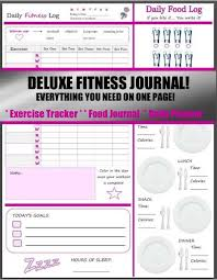 food diary template download free printable food diary template