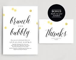 brunch invitations bridal brunch invitation bridal shower invitation brunch and