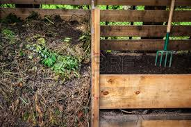 Backyard Soil Large Cedar Wood Compost Boxes With Composted Soil And Yard Waste