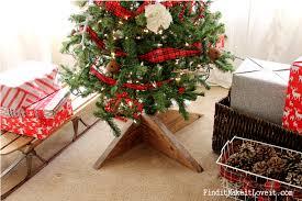 diy rustic tree stand find it make it love it