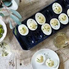 deviled egg platters navy deviled egg platter 84 bloomingdale s x food52